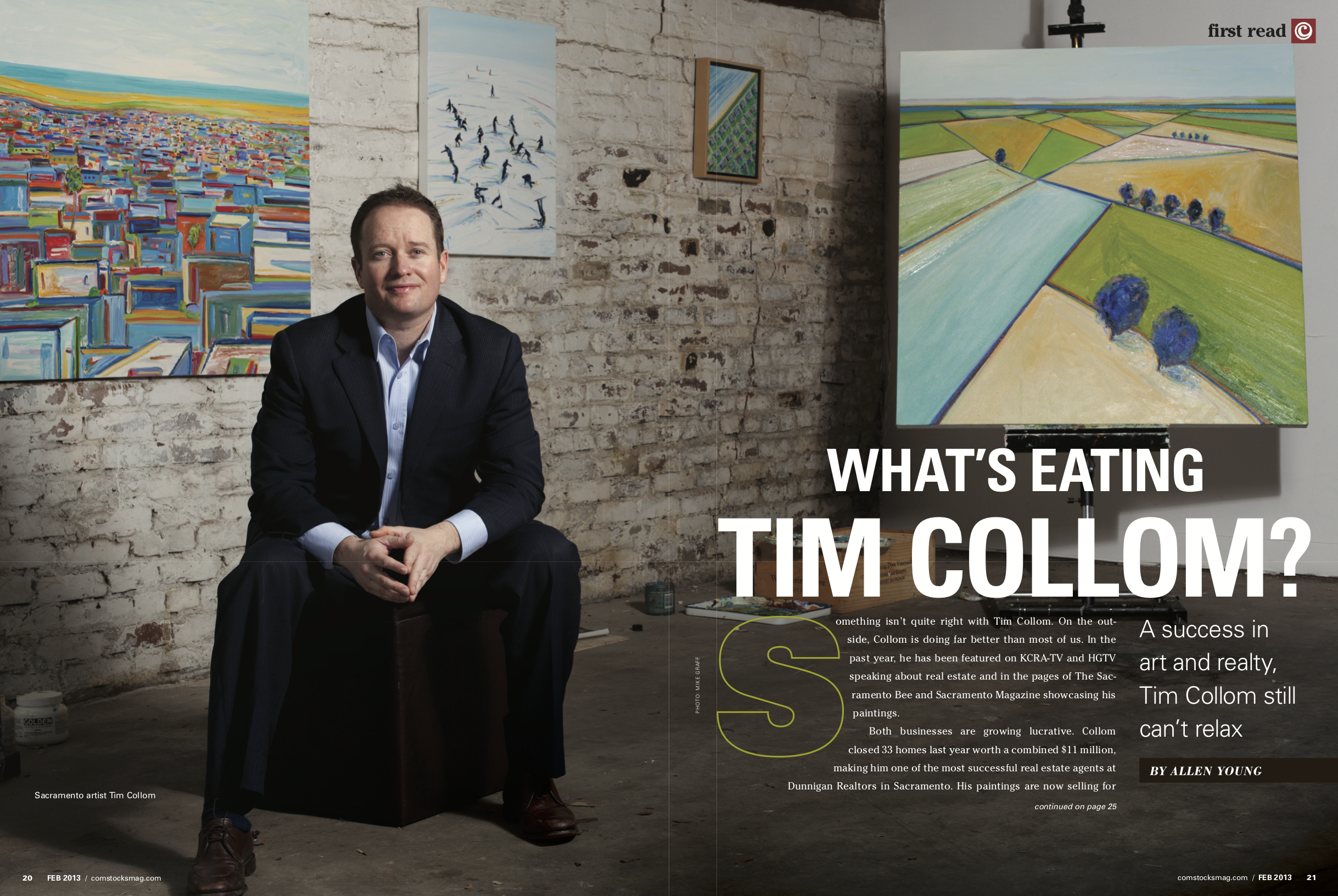 <strong> What's Eating Tim Collom? </strong>