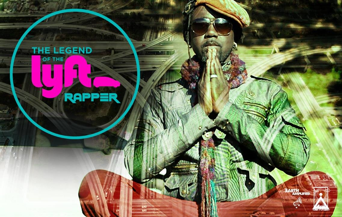 <strong> Hop in, your Lyft Rapper has arrived <br>KQED California Report Magazine <br> </strong>